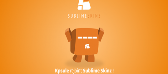 Sublime Skinz rachat KPsule