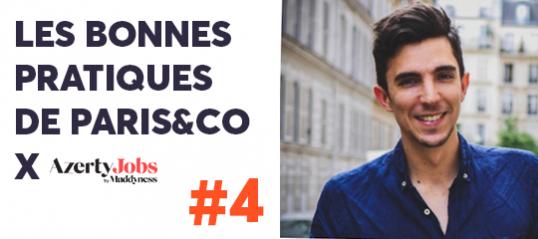 Les bonnes pratiques de Paris&Co #4